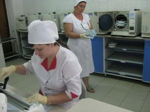Централизованное стерилизационное отделение